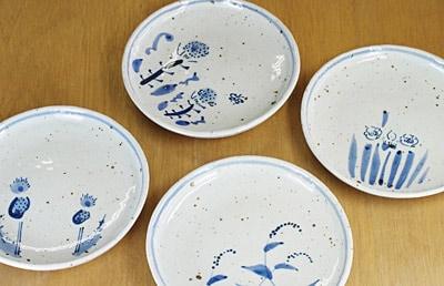 砥部焼き 森陶房 ほうろく皿 土