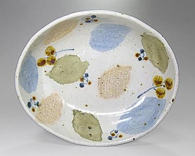 砥部焼 森陶房 カレー皿