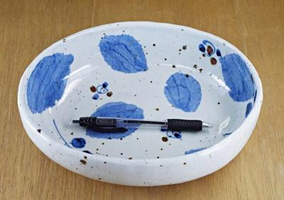 和食器 楕円鉢 大きさ比較