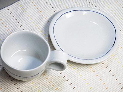 和食器、砥部焼のコーヒーカップ