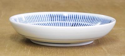 砥部焼き 中田窯 5寸丸皿