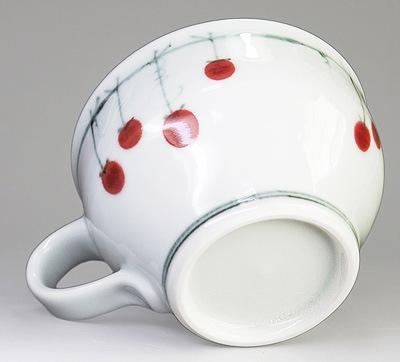 砥部焼 中田窯のスープカップ