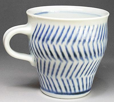 和食器、砥部焼のマグカップ