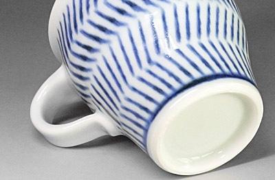 砥部焼、中田窯のマグカップ