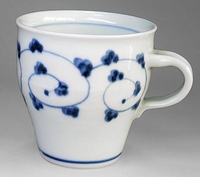 砥部焼 中田窯 マグカップ