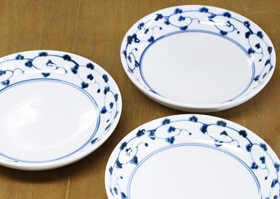 砥部焼き 中田窯 5寸丸皿 取り皿