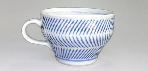 砥部焼 中田窯 スープカップ