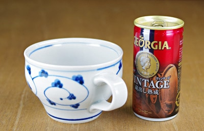 砥部焼き スープカップ 大きさ比較