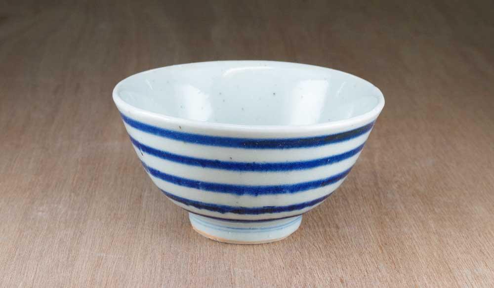 砥部焼 中田窯 ごはん茶碗