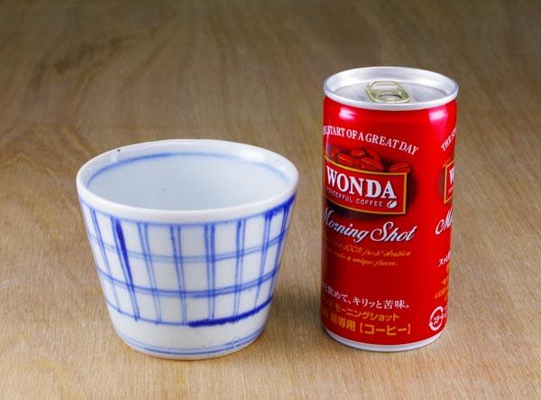 和食器 そばちょこ 中田窯 砥部焼き 大きさ比較