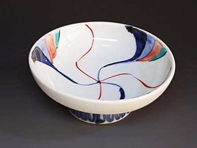 砥部焼の中鉢