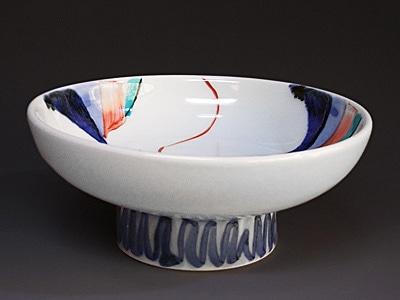 砥部焼、西岡工房さんの鉢