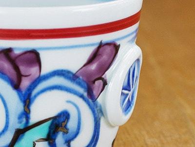 印花文 コーヒーカップ