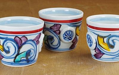 手描き 砥部焼 コーヒーカップ