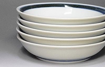 和食器、砥部焼の丸皿