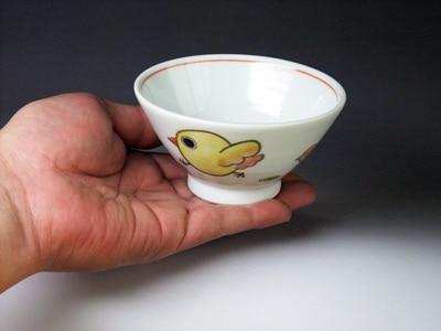 砥部焼・大西陶芸・子供茶碗