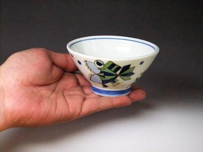 砥部焼・大西陶芸・こども茶碗