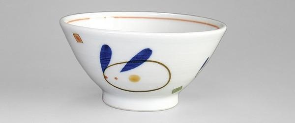 砥部焼 大西陶芸 こども茶碗