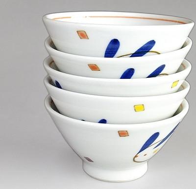 和食器 こども茶碗 重ねたところ