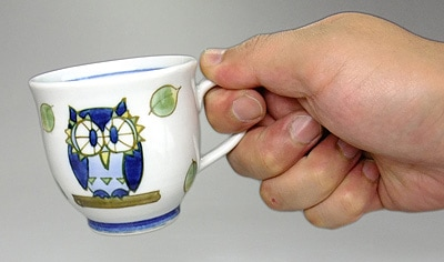 ふくろうのマグカップ