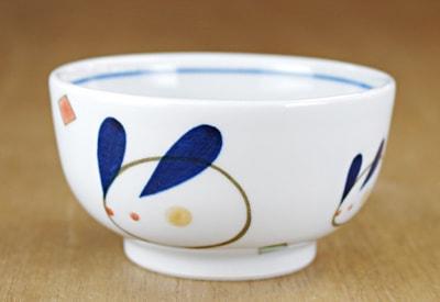 砥部焼 大西陶芸 お食い初め食器 お汁碗