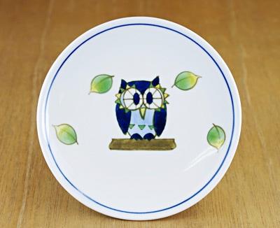砥部焼 丸皿