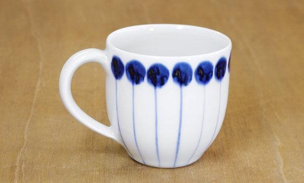 砥部焼き 五松園 マグカップ