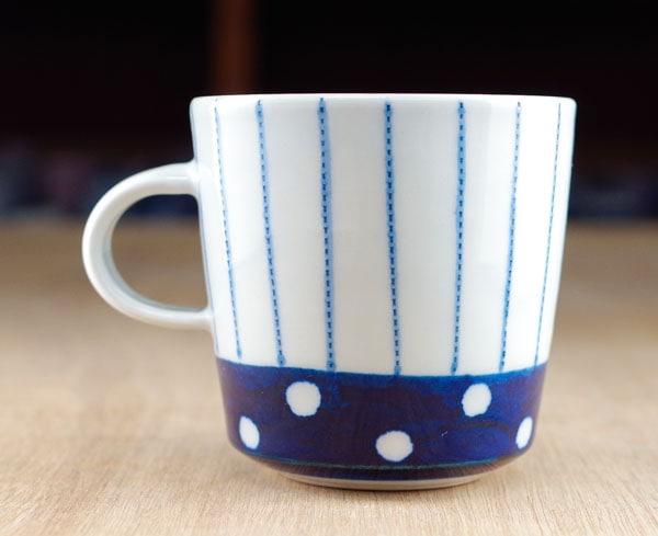 皐月窯 砥部焼き マグカップ