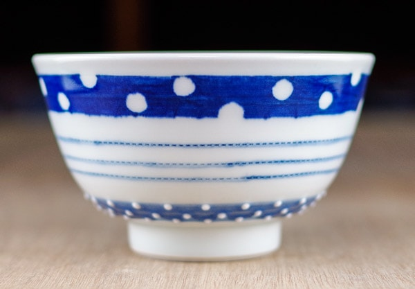 皐月窯 砥部焼き ごはん茶碗