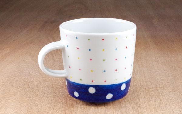 砥部焼 皐月窯 マグカップ