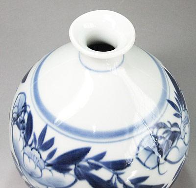 栖山窯 丸花瓶