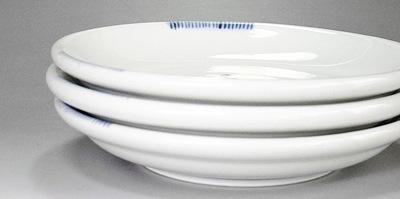 砥部焼の丸皿