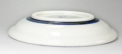玉縁皿 花文