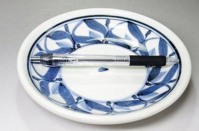 砥部焼の玉縁皿 取り皿サイズ