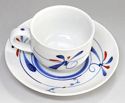 千山 コーヒーカップ&ソーサー