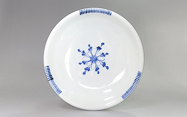 和食器 中皿 玉縁皿