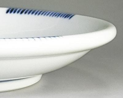 砥部焼 玉縁皿