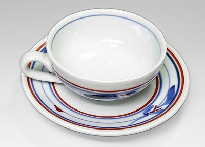 砥部焼 梅山窯 紅茶カップ