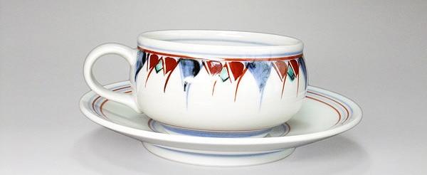 砥部焼 梅山窯 ティーカップ
