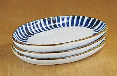 和食器 中皿 魚皿