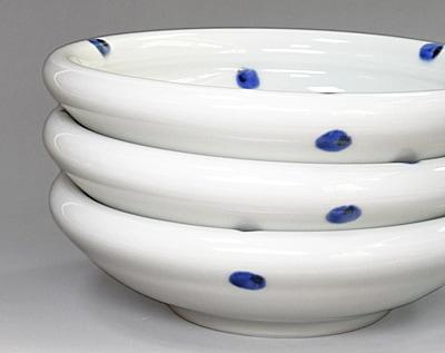 砥部焼き 梅乃瀬窯 7寸玉縁鉢