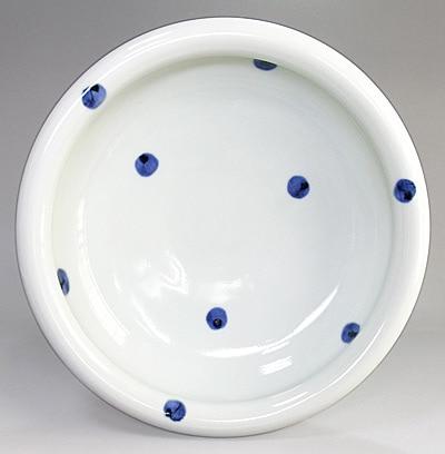 砥部焼 梅乃瀬窯 8寸玉縁鉢