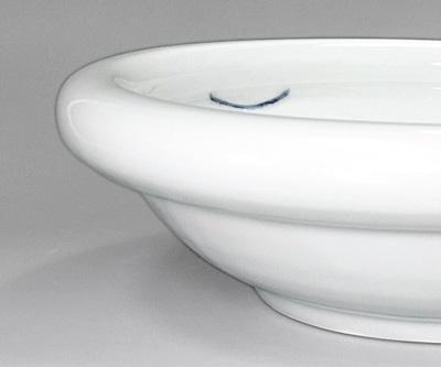 砥部焼き 梅乃瀬窯 9寸玉縁鉢