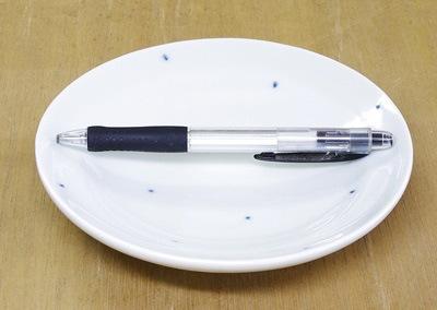 5寸丸皿 大きさ比較