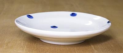 砥部焼 梅乃瀬窯 5寸丸皿