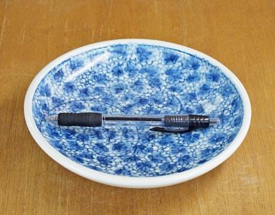 梅乃瀬窯 6寸丸皿 大きさ比較