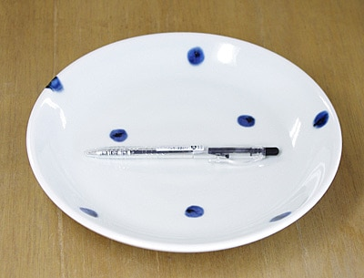 和食器 丸皿 大きさ比較
