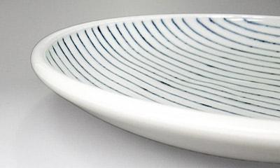 梅乃瀬窯の丸皿