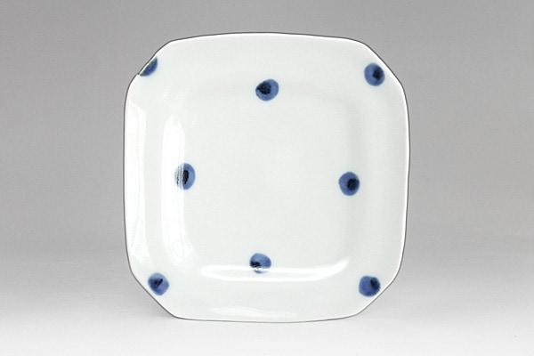 砥部焼き 梅乃瀬窯 角皿