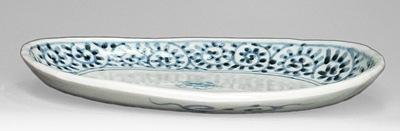 砥部焼 楕円皿、浅めのお皿